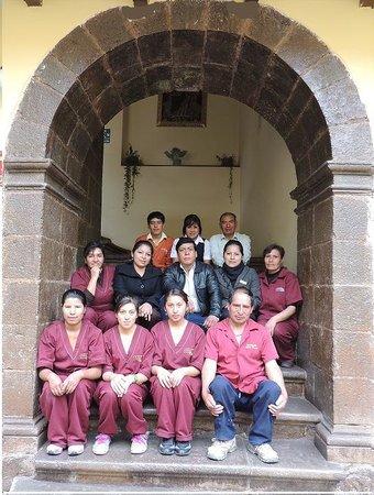 Cusco Plaza Nazarenas: Cusco Plaza Team/ Equipo del Cusco Plaza