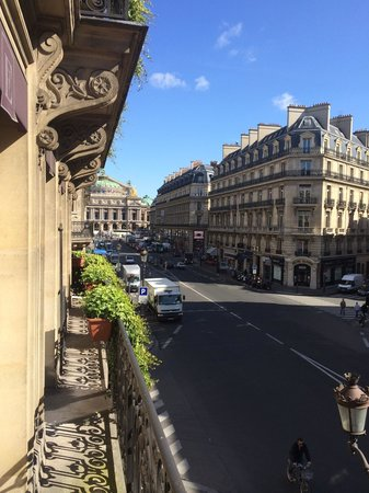 Hotel Edouard 7: View from balcony