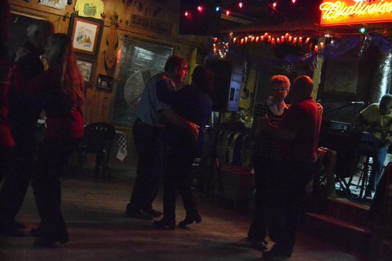 Houma, Louisiane : Friday night Cajun dance and food.