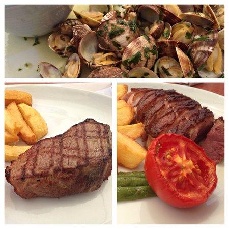 Clubhouse 27: Un menú riquísimo, el Magret de pato és una delícia.