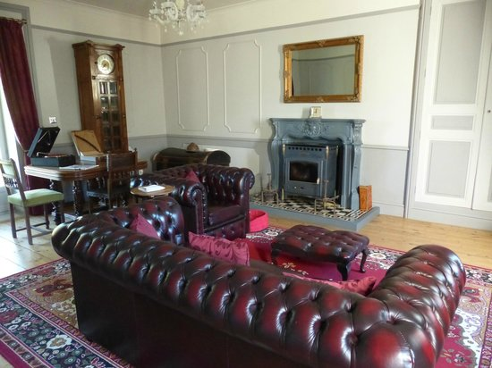 La Belle Epoque : One view of the downstairs lounge