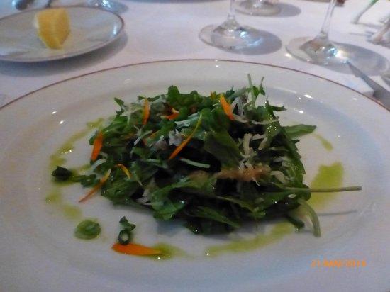 L'Arpege : Uma salada maravilhosa