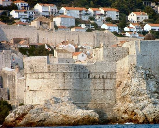 Remparts : View from the sea