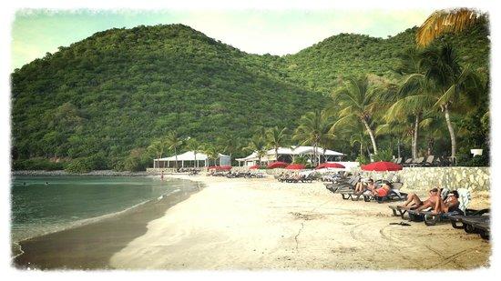 Anse Marcel, St-Martin/St Maarten: Beach