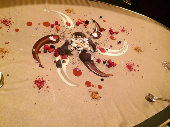 Caelis: le tableau dessert