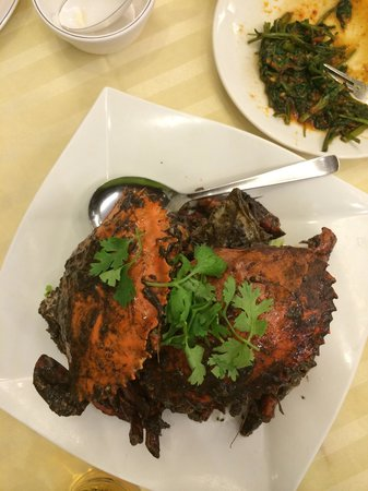 Long Beach MAIN Seafood Restaurant: Peppered crab - yumm