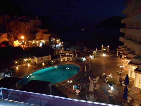 H10 Blue Mar Boutique Hotel: Ausblick bei Nacht