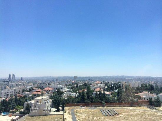 Four Seasons Hotel Amman : Uitzicht vanaf de hotelkamer