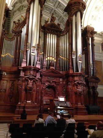 Methuen Memorial Music Hall: the magnificent Great Organ