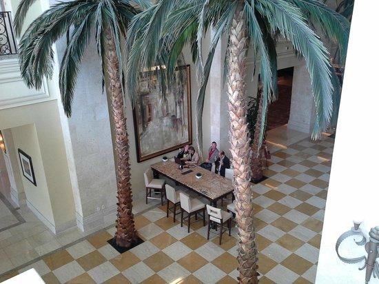 Tampa Marriott Waterside Hotel & Marina: Hall de l'hôtel