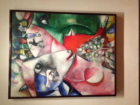 The Museum of Modern Art (MoMA) : Просто роскошно - Шагал
