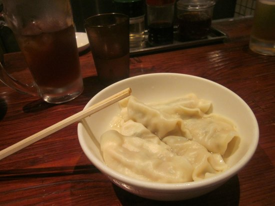 Harajuku Gyozaro: Boiled gyoza 2