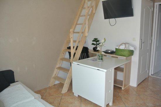 Hotel les Mimosas : Appartement 2 personnes