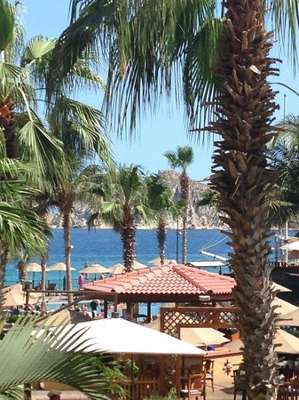 Villa del Arco Beach Resort & Spa Cabo San Lucas : View from our room on the second floor