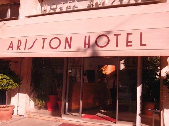 Ariston Hotel: ENTRATA