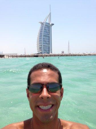 Burj al-Arab : Visual da praia ao lado