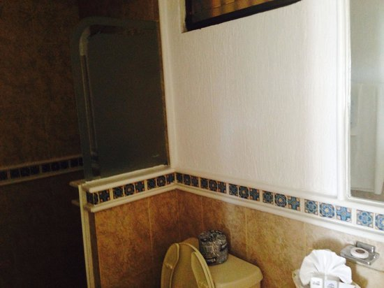 The Inn at Mazatlan: The bathroom