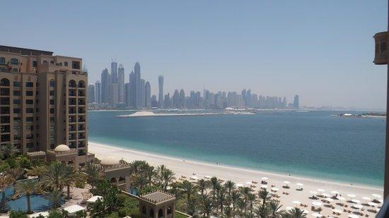 Fairmont The Palm, Dubai: View from room balcony
