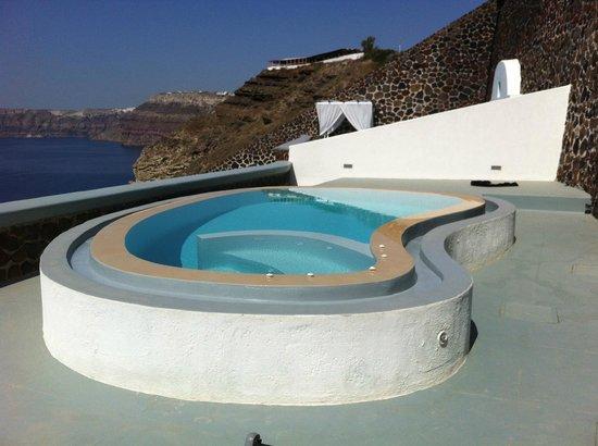 Ambassador Aegean Luxury Hotel & Suites: terrasse