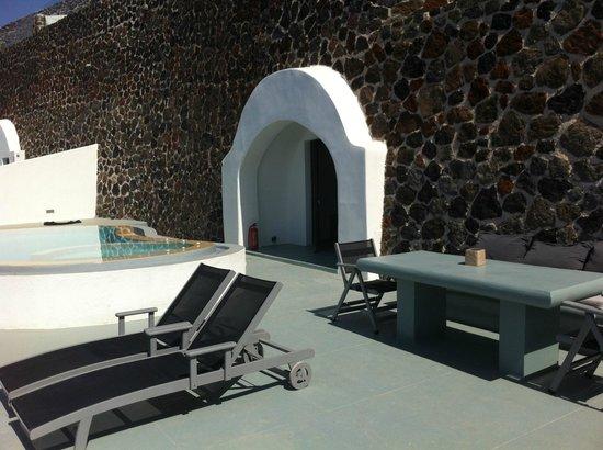 Ambassador Aegean Luxury Hotel & Suites : terrasse