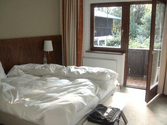 Hotel Unterwirt : Camera matrimoniale con balcone