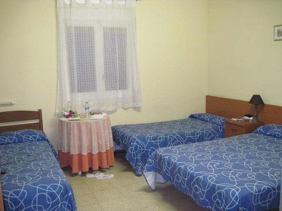 Hostal de Ribagorza: camera