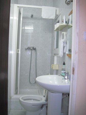 Hostal de Ribagorza: bagno