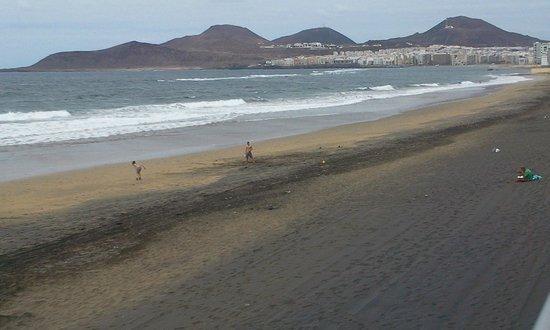 Sercotel Cristina Las Palmas: Lower Las Canteras Beach, Las Palmas, Gran Canaria - Surfers paradise