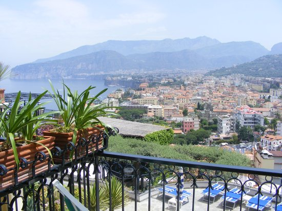 Grand Hotel Capodimonte : The view from our room