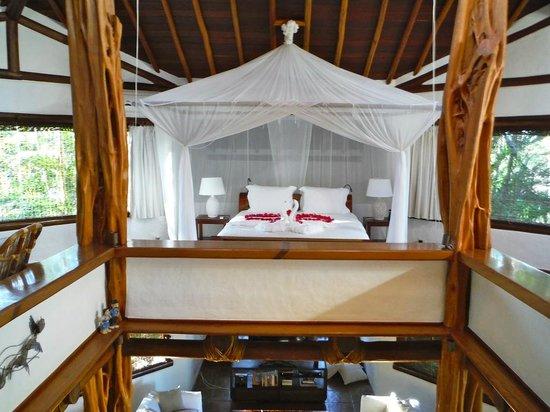 Villas de Trancoso Hotel: Sky Villa bed