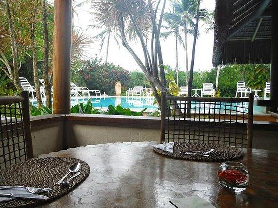 Villas de Trancoso Hotel : View from Restaurant