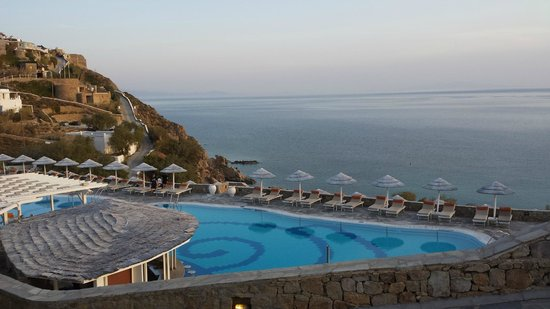 Myconian Imperial Resort : Breathtaking view from Myconian Imperial Hotel