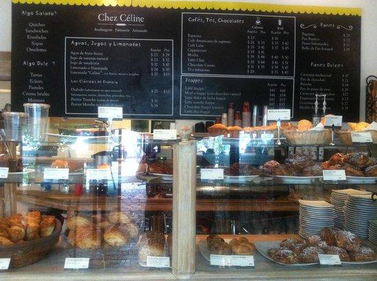 Chez Céline : Deliciosos panes