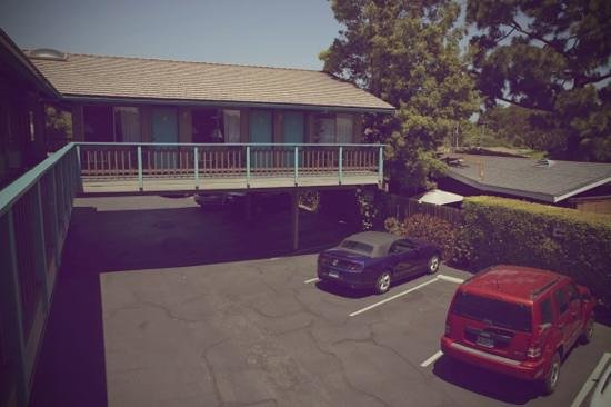Presidio Motel: free parking