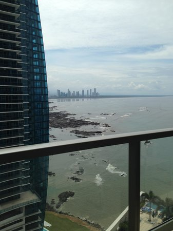 Trump International Hotel & Tower Panama: View from Balcony