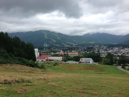 Hakuba : トレイルランのコースからの眺め
