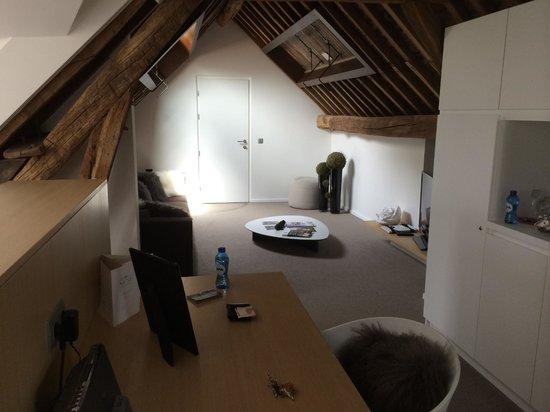 NE5T Hôtel & Spa : NEST living room