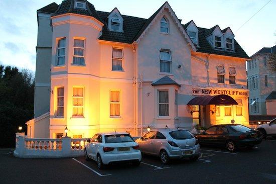 New Westcliff Hotel Floodlit At Night
