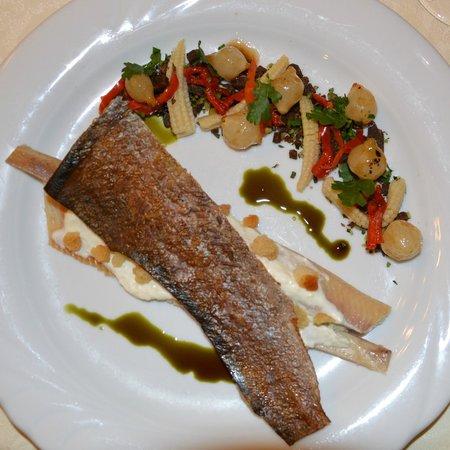 """Krebsenkeller - Restaurant: 2.Gang; Forelle """"smoked"""""""