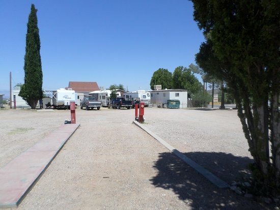Stampede RV Park and B&B: very spacious rv sites......
