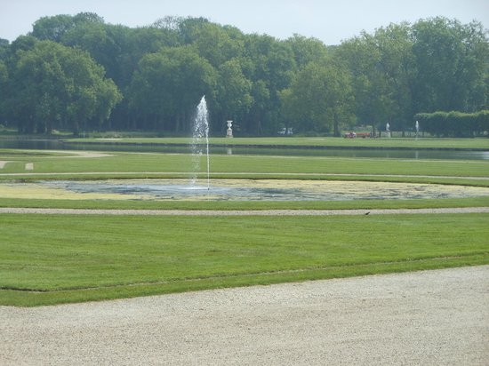 Château de Chantilly : Part of the gardens