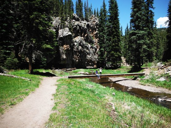 Jemez Mountain Inn: Los Conchas Trail