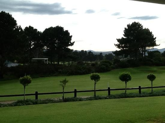 Goose Valley Golf Club : View from the clubhouse over the 18th fairway.