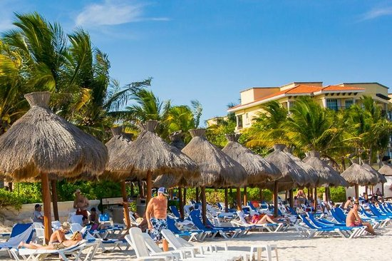 Hotel Marina El Cid Spa & Beach Resort : Beach area. All Photos (C) 2014 RZF Images. All Rights Reserved