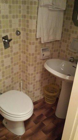 Hotel Schenatti: Bagno singola