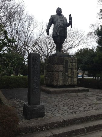 Shizuoka castle : 徳川家康像