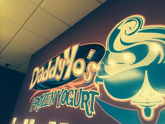 Daddy Yo's Frozen Yogurt Berea: Cool sign