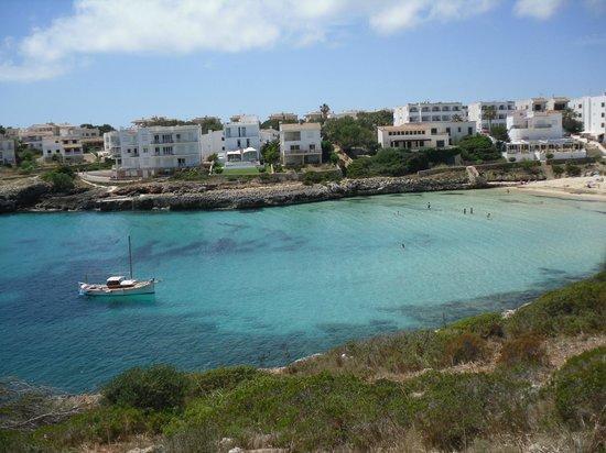 Hotel Club Cala Marsal: Bucht-wunderschön und glasklares Wasser