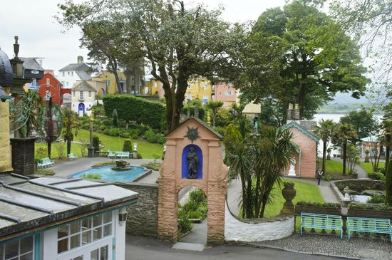 Hotel Portmeirion: View from Salutation 1