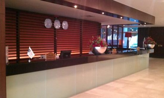 Bab Al Bahr Hotel: reception